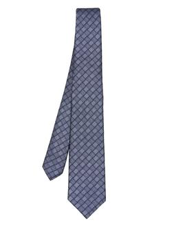 Lanvin - Checked-Jacquard Silk Tie