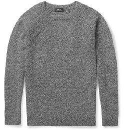 A.P.C.   - CREW NECK LAMBSWOOL SWEATER