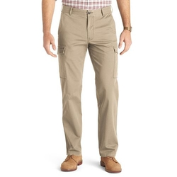 Izod - Straight-Leg Stretch Cargo Pants