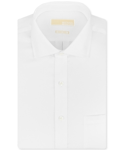 Michael Michael Kors - Twill Solid Dress Shirt