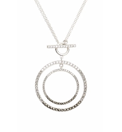 Judith Jack - Circle Pendant Necklace