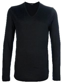 ANN DEMEULEMEESTER  - v-neck sweater