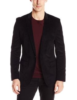 Calvin Klein  - Velvet Shawl Collar Sport Coat
