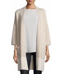 Eileen Fisher - Double-Knit Kimono Cardigan