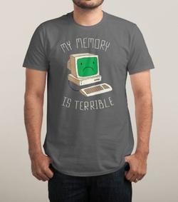 Threadless - My Memory Is Terrible Shirt