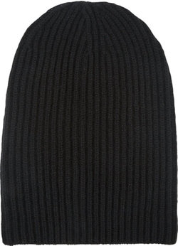 Barneys New York - English Rib-Knit Beanie Hat