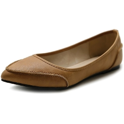 Ollio - Ballet Pointed Toe Shoes
