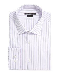 John Varvatos Star USA  - Long-Sleeve Striped Dress Shirt