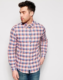 Ben Sherman - Oxford Shirt With Multi Check