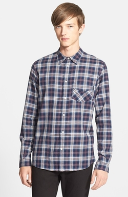 Paul Smith Jeans   - Classic Fit Plaid Sport Shirt