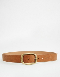 Asos Collection - Rectangle Buckle Jeans Belt