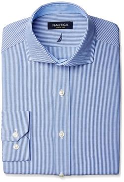 Nautica - Stripe Cutaway Collar Shirt