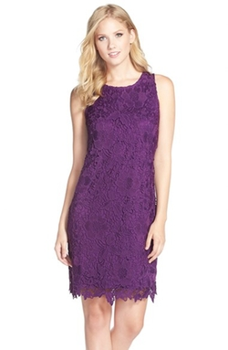 Eci - Lace Sheath Dress
