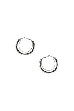 Topshop - Double Hoop Wrap Earrings