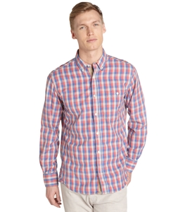 French Connection - Gingham Stripe Button Front Shirt