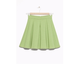 & Other Stories - Flared Jersey Skirt