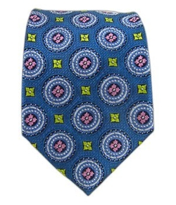 TheTieBar -  Serene Power Medallion Tie