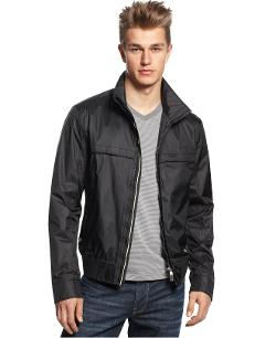 Hugo Boss - Green Jadon Performance Bomber Jacket