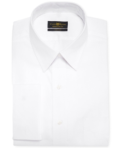 Club Room Estate - Solid French Cuff Shirt