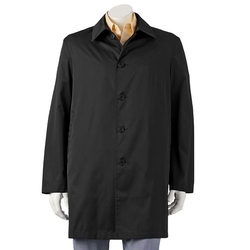 Chaps - Packable Travel Rain Coat - Men