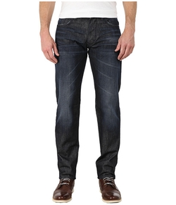 DKNY Jeans - Bleecker Jeans In Titan Dark Indigo Wash