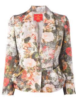 Vivienne Westwood  - Floral Print Blazer