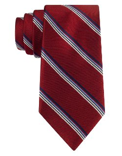 Ike By Ike Behar - Silk Stripe Tie