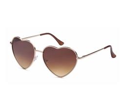 Retro Rewind - Metal Heart Shaped Sunglasses