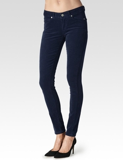 Paige - Verdugo - Midnight Corduroy Pants
