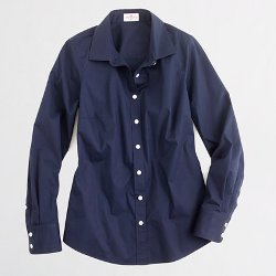 J.Crew - Factory Stretch Classic Button-Down Shirt
