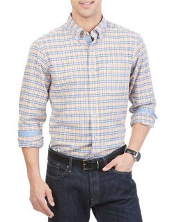 Nautica - Slim Fit Plaid Sportshirt