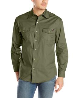 Dickies  - Long-Sleeve Western Twill Shirt