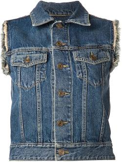 Saint Laurent - Denim Vest