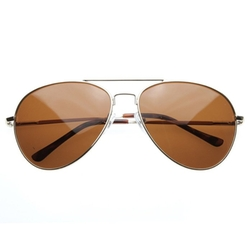 ZeroUV  - Polarized Classic Metal Aviator Sunglasses