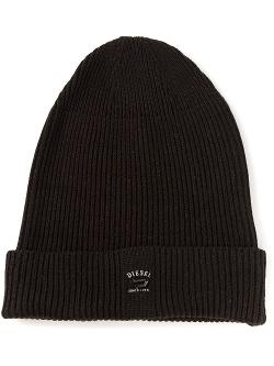 Diesel  - Ribbed Knit Beanie Hat