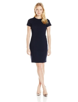 Ellen Tracy - Cap-Sleeve Sheath Dress