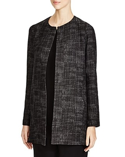 Eileen Fisher - Textured Crosshatch Jacket