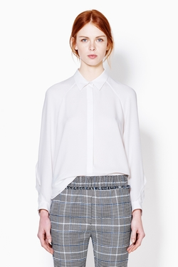 3.1 Phillip Lim - Blouse With Curved Torchon Lace