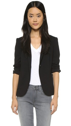 Getting Back To Square One  - One Button Blazer