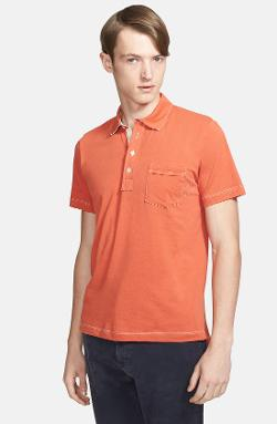 Billy Reid  - Pensacola Trim Fit Polo