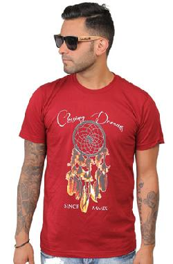 Jbon Clothing - Chasing Dreams Tee Maroon