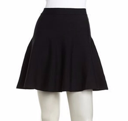 Romeo & Juliet Couture - Pull-On Flare Stretch Skirt