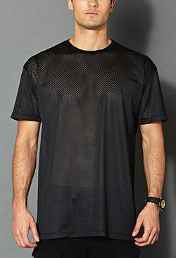 Forever 21 - Crew Neck Mesh Jersey