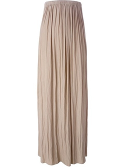 Lanvin - Pleated Maxi Skirt