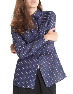BCBGeneration - Dotted Button-Front Shirt