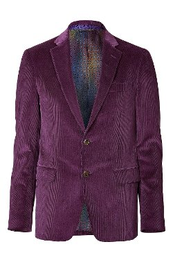 Etro - Cotton Velvet Blazer