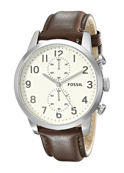 Fossil - Townsman Leather Band Watch