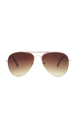 Forever 21 - Enamel Bar Aviator Sunglasses