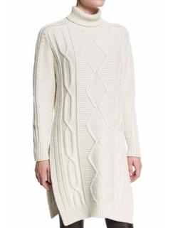 Derek Lam 10 Crosby - Turtleneck Sweater Dress