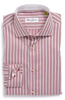 Robert Graham - Chancey Regular Fit Stripe Dress Shirt